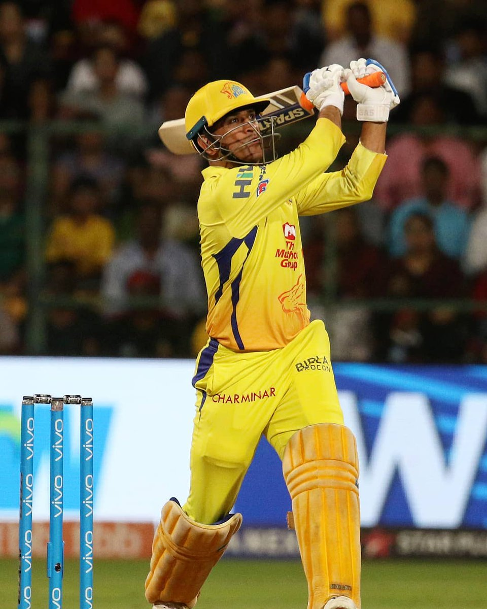 #RCBvCSK - Dhoni proves once again he is the ONLY CAPTAIN COOL... Sorry Rohit...!!!