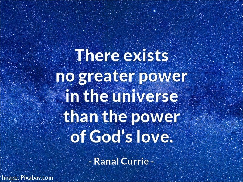 Ranal Currie On Twitter There Exists No Greater Power In The