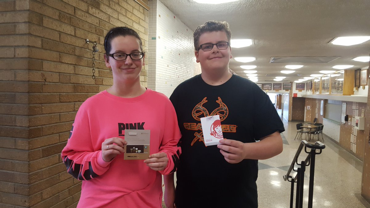 Tvtrojans Org On Twitter Congratulations To Emma Lego And Lance Scott As They Were Todays Daily Drawing Winners Thursdays Theme Is Gear Up So Wear