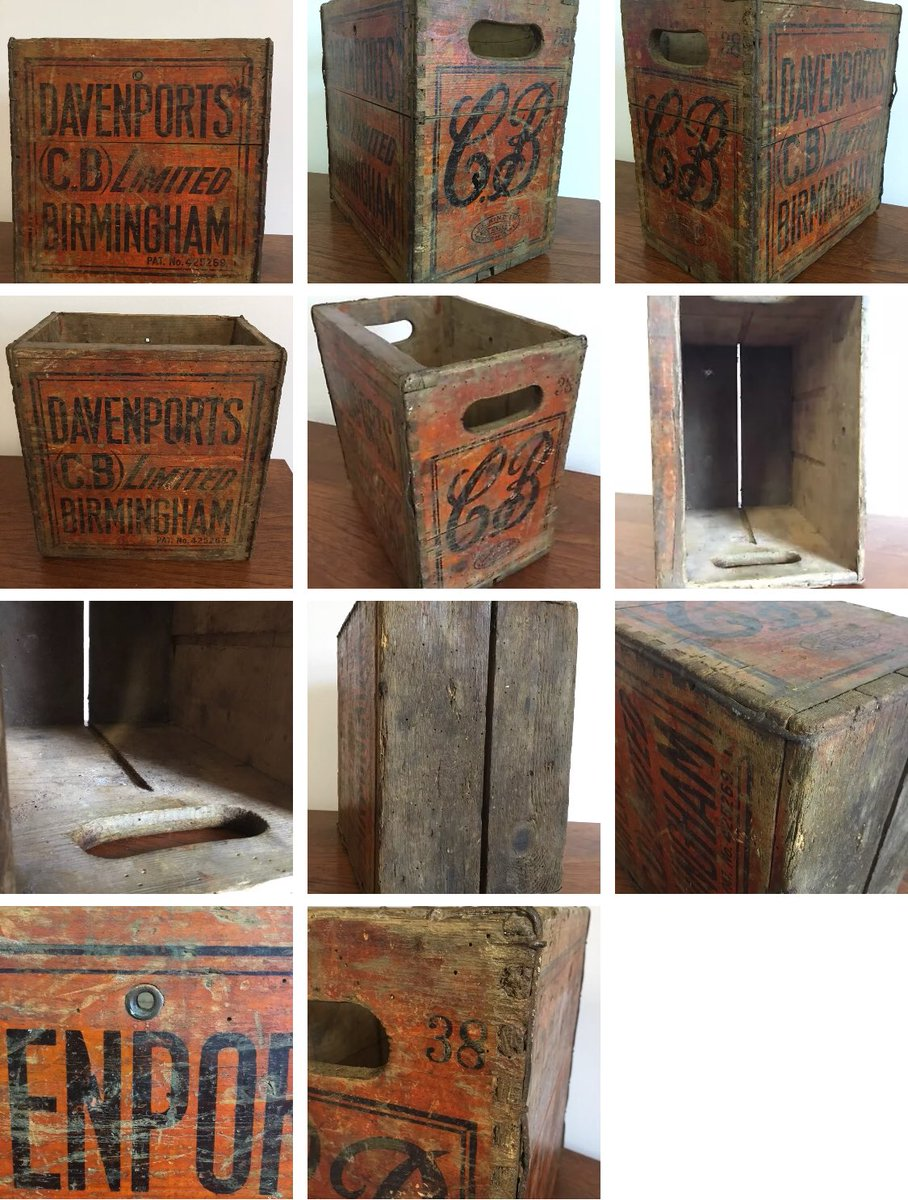 Vintage Davenports beer crate in our 40% off Sale. To view click on the link  http:// stores.ebay.co.uk/Welsh-Rarebits -by-Annabelle &nbsp; …   #vintageshowandsell #vintage #retro #antique #furniture #interiors #Sale<br>http://pic.twitter.com/ogX7RzsTra