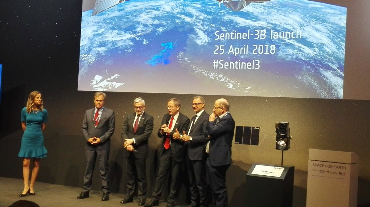 #sentinel3 Big success for Europe!!! @CopernicusEU @AschbacherJosef https://t.co/GNllk6yOUb