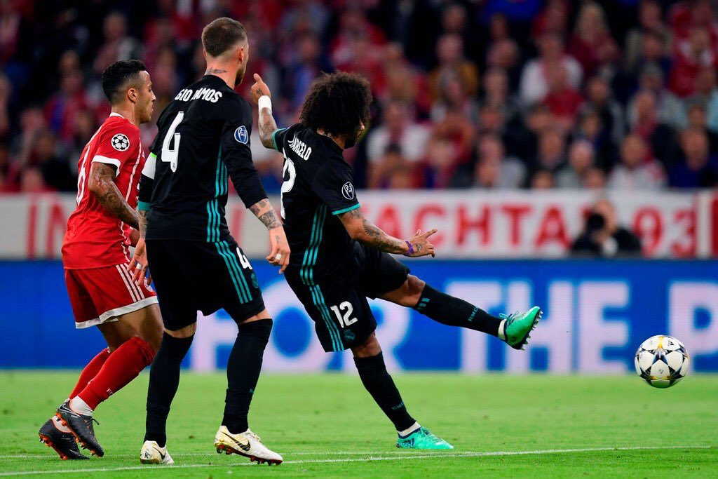 هدف ريال مدريد الأول في مرمى بايرن ميونيخ