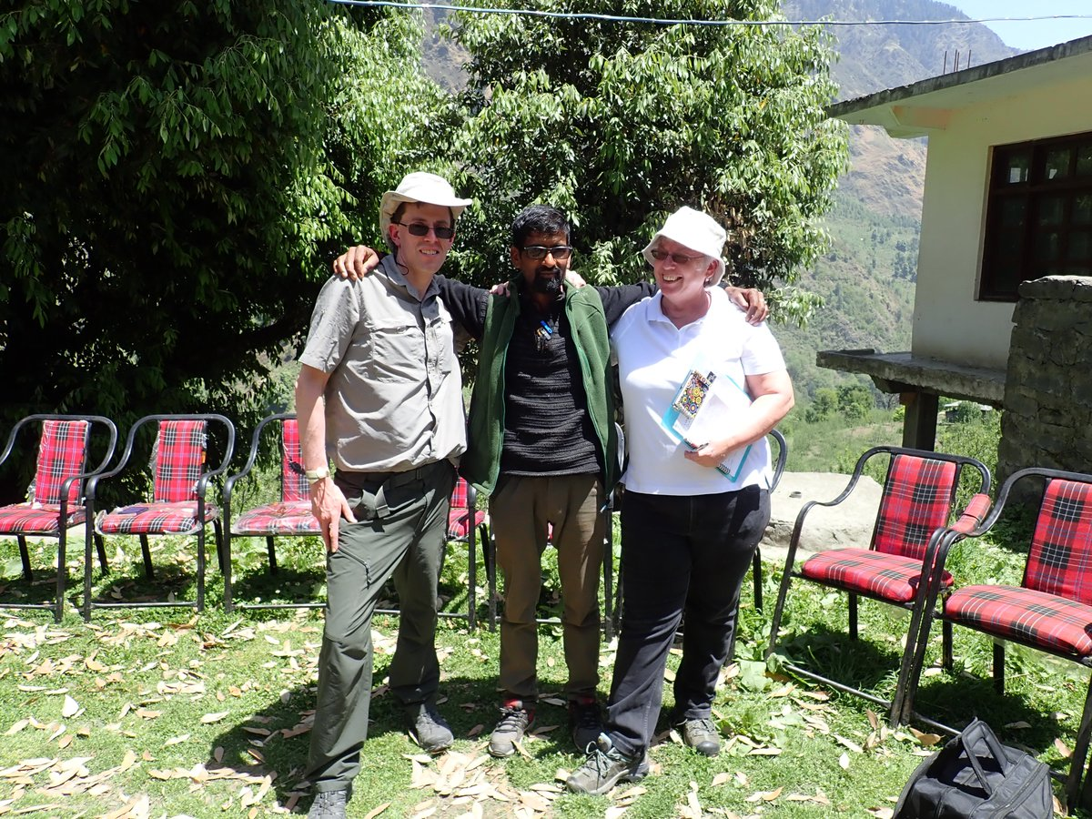 Partnership With Indian Canadian Colleagues Undertaking Research Impact Data Collection In The Himalaya Here Filming And Working Local