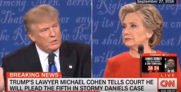 #BREAKING:#Trump&#39;s HYPOCRISY ON STEROIDS--During the 2016 campaign #Trump ATTACKED.@HillaryClinton staffers saying, &quot;IF YOU ARE INNOCENT, WHY ARE YOU TAKING THE 5TH?&quot;. Well now his lawyer #MichaelCohen is DOING THE SAME--AND #Trump&#39;s OK WITH IT!! Hmmm #TheResistance #CNN #MSNBC<br>http://pic.twitter.com/UEGfmDZU7p