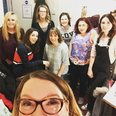 Still up? Want to hear what happened when @SarahMillican75 and @MicksterNoonan met @Isysuttie, @Roisinconaty and Bridget Christie? https://t.co/M9kmrvdXDp