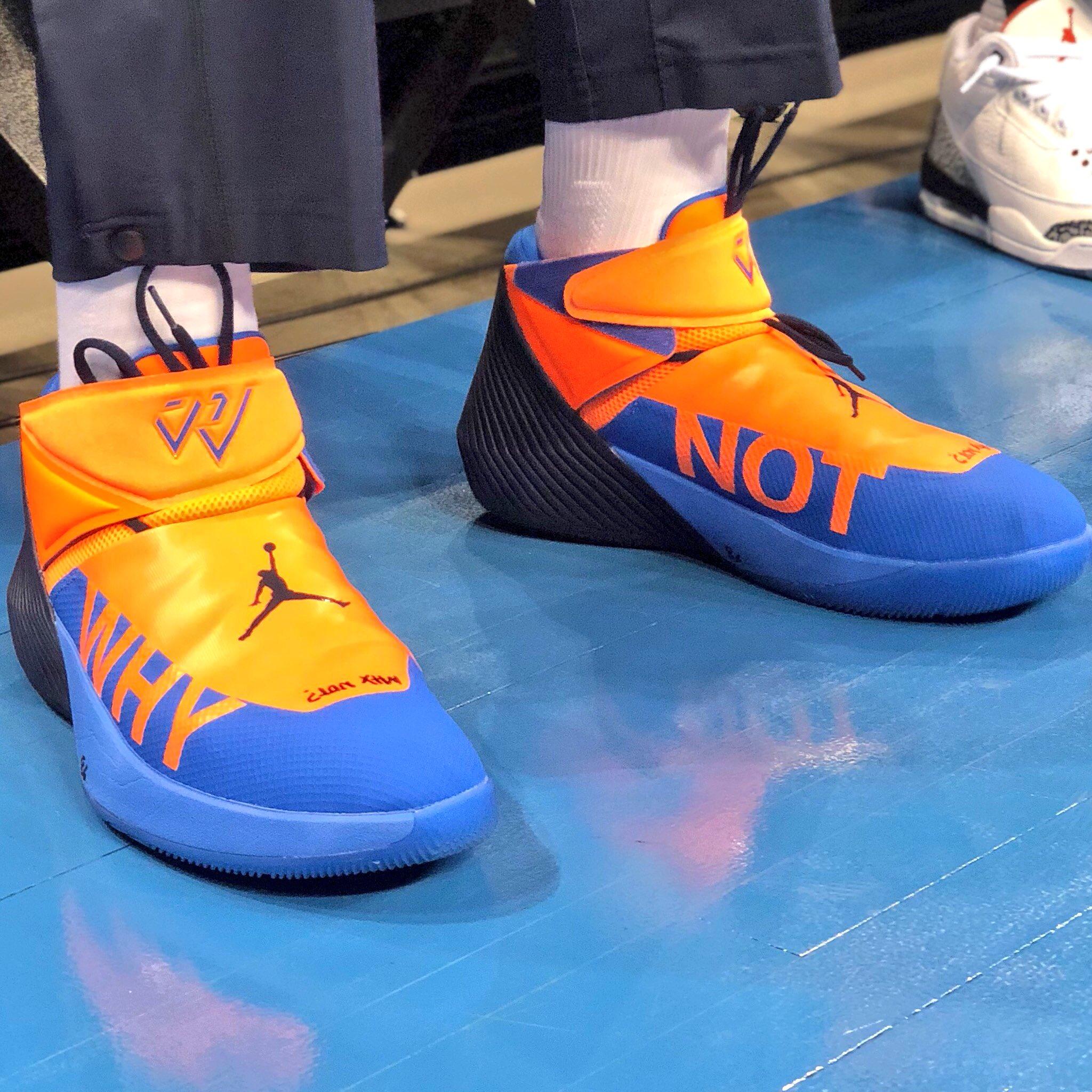 Another look at Russ' #NBAKicks!   #ThunderUp #NBAPlayoffs https://t.co/Sr5gTCm32a