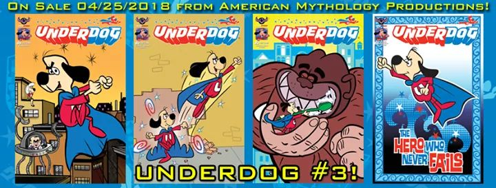 Have you picked up your copy of UNDERDOG #3? #NCBD #Underdog #Comics #ComicBooks #AllAges<br>http://pic.twitter.com/cyw6o8lNsi