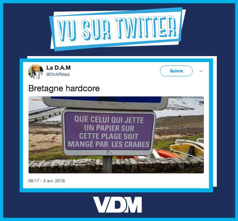 Mieux vaut éviter d'embrouiller un breton j'vous l'dis ! #VDM #viedemerde #vusurtwitter par @DirAffMed