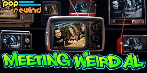 Join us in this Ridiculously Self-Indulgent, Ill-Advised Vanity #Podcast where we talk about meeting @alyankovic together on his current tour. What amazing thing did Weird Al say to us that made meeting him the best moment of our lives?! Stay tuned!  http://www. poprewind.com/pop-rewind-pod cast-meeting-weird-al-yankovic/ &nbsp; … <br>http://pic.twitter.com/VcvhUOaUUZ