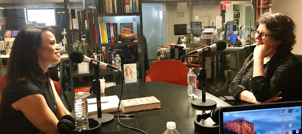 """On the latest #CTMPodcast, author @MegWolitzer joins @AMGreenCBS to discuss her latest novel """"The Female Persuasion.""""  Hear how the book's ending was affected by the 2016 election  https://t.co/dBb2X3EcZ0"""
