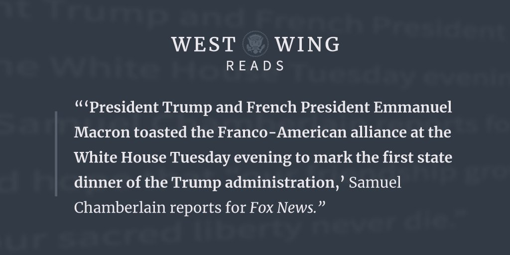 Tonight's edition of West Wing Reads: https://t.co/wTPnLvI9yr https://t.co/8VGEpM9dph