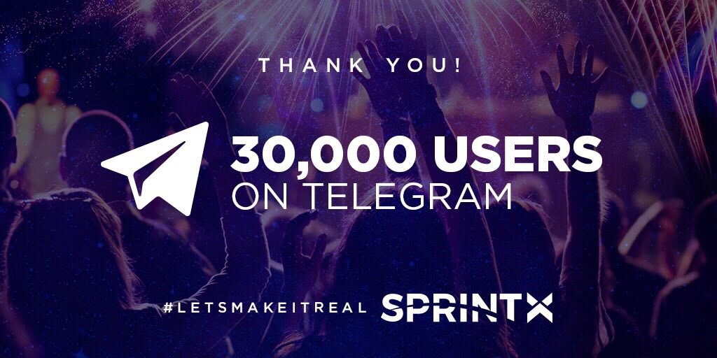 Wow! We just hit 30000 members on our #telegram channel!   Jump in here now:  http:// buff.ly/2IHb3cf  &nbsp;   To see what's the fuss about!  #LetMakeItReal  #Cryptocurrency #Crypto #ICO #Startups #Blockchain #Bitcoin #ethereum #YAY #leadership #sprintx<br>http://pic.twitter.com/LD4ujXdOUW