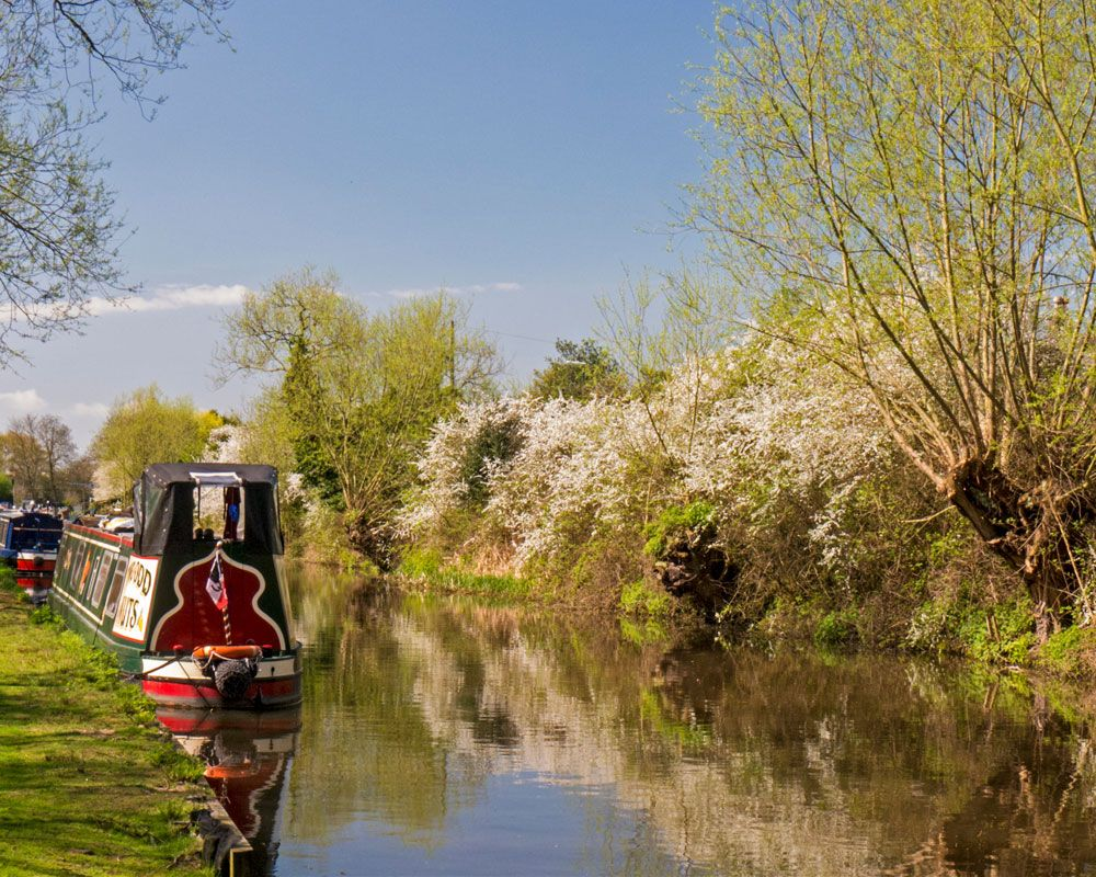 Today's Photo of the Day is this image of Trent and Mersey Canal in Derbyshire by John Dear