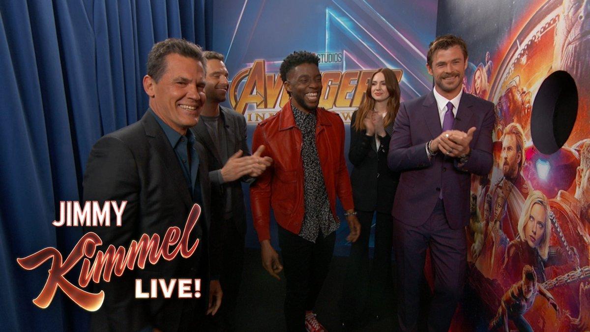 Image for the Tweet beginning: SNEAK PEEK SURPRISE @Avengers #InfinityWar