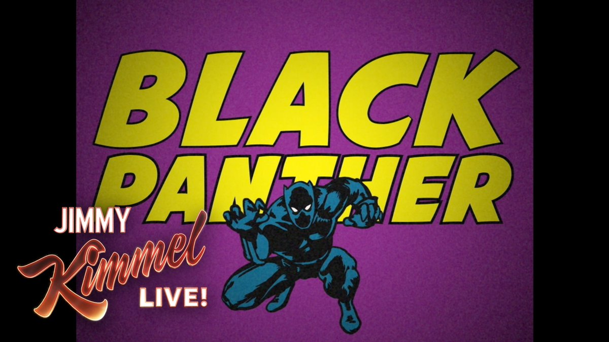 Image for the Tweet beginning: #BlackPanther didn't have a vintage