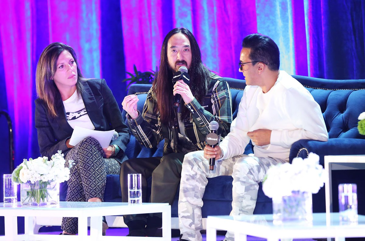 Watch Steve Aoki discuss working with BTS & Daddy Yankee during : 'W#LatinMusicWeeke're trying to do something different' https://t.co/eNX87aK9zT