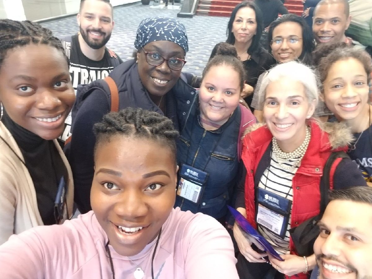Harlem has arrived! Ready to push our Math thinking. @psms46Harlem #NCTMAnnual #NCTM2018 @NYCSchools