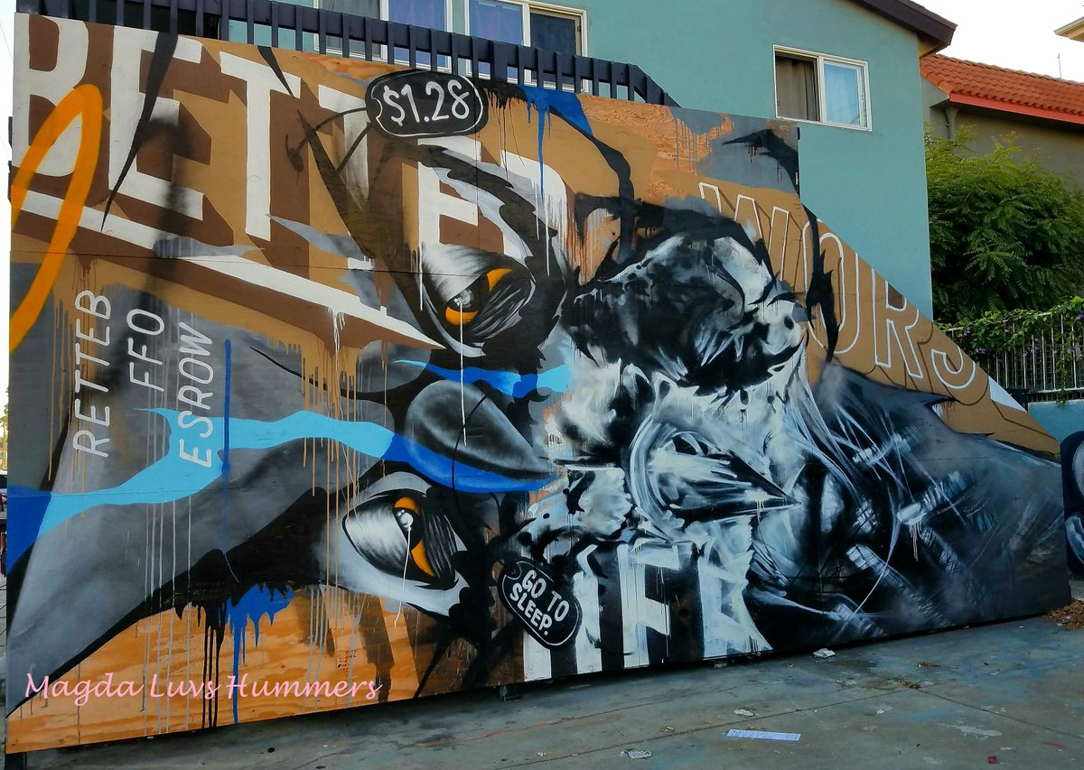 Buy art from a living artist. The dead ones don&#39;t need the money  Awesome #art #Mural in #MarinaDelRey #streetart #Wednesday #travel #UnknownArtist<br>http://pic.twitter.com/5ndHRyidxk