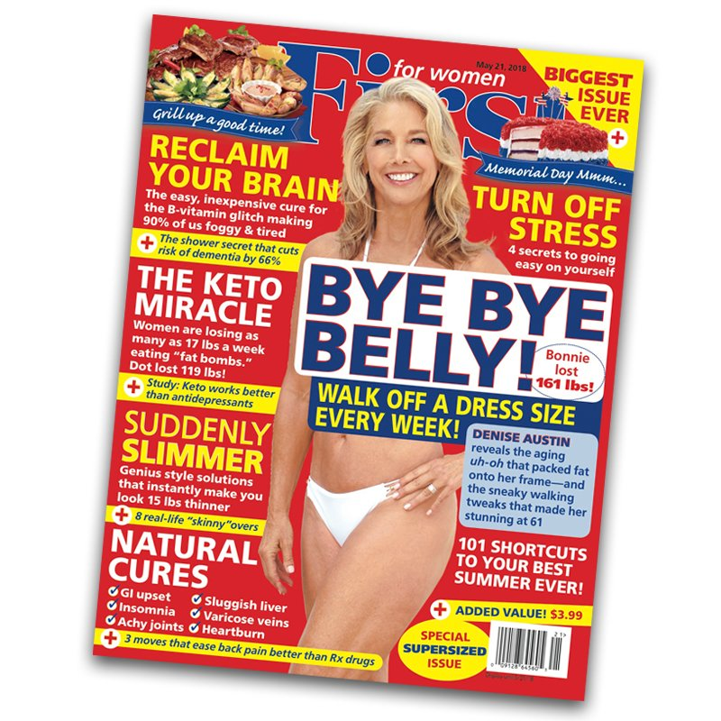 For First Women S Gest Issue Ever Fitness Guru Deniseaustin Reveals How She Outsmarted The Hormonal Glitch That Packs On Fat After 40