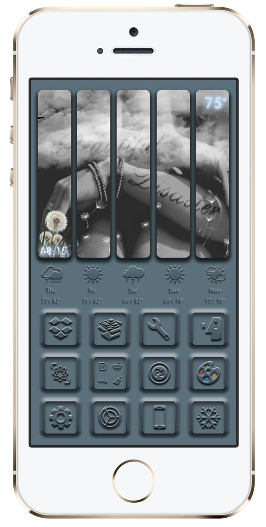 Then &amp; now...my how my style has changed Updated my old @kleinmone dbar (iirc it was Mone) I still love this dbar just a bit more simple thx june 4 help #frontpage #mysb #xeninfo #hidestatusbar @JunesIphone #xenhtml @_Matchstic #v4 by @jima6636<br>http://pic.twitter.com/05HjNpvJKd