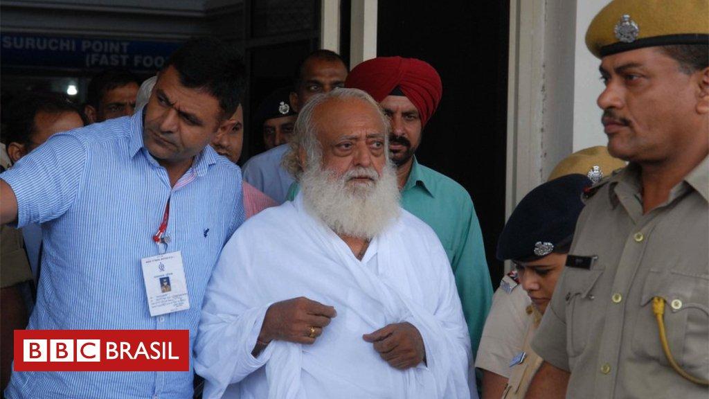 Popular guru indiano é condenado à prisão perpétua por estuprar adolescente https://t.co/GdpggO1Wdl