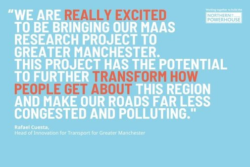 Discover how we&#39;re transforming transport in the north of England, developing a business model around Mobility as a Service for Greater Manchester. #InnovativeNorth  http:// bit.ly/2r00yKL  &nbsp;  <br>http://pic.twitter.com/IRASfeNsbn
