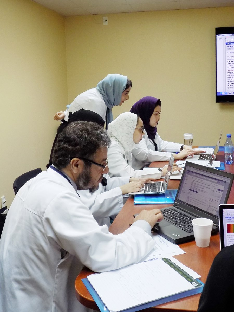 Our hands-on training continues with our #Endnote Trainer, Ms. Amal Alghammas. Registration for our succeeding sessions are still open for the 10 May and 28 June dates. #endnotetraining #scientificwriting #academicwriting #ASM<br>http://pic.twitter.com/bPY2MSGWjq