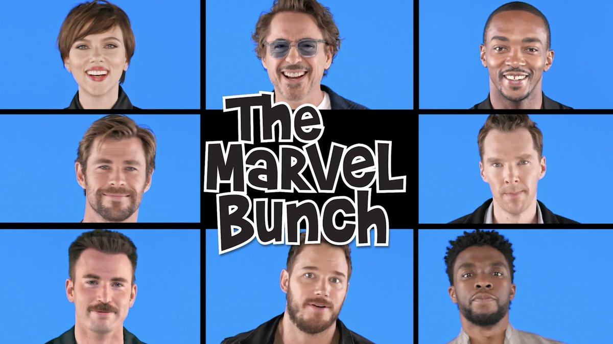 Oh and also @MarvelStudios' @Avengers cast did some crossover fun!! #FallonTonight #AvengersInfinityWar watch!! watch!! watch!!!