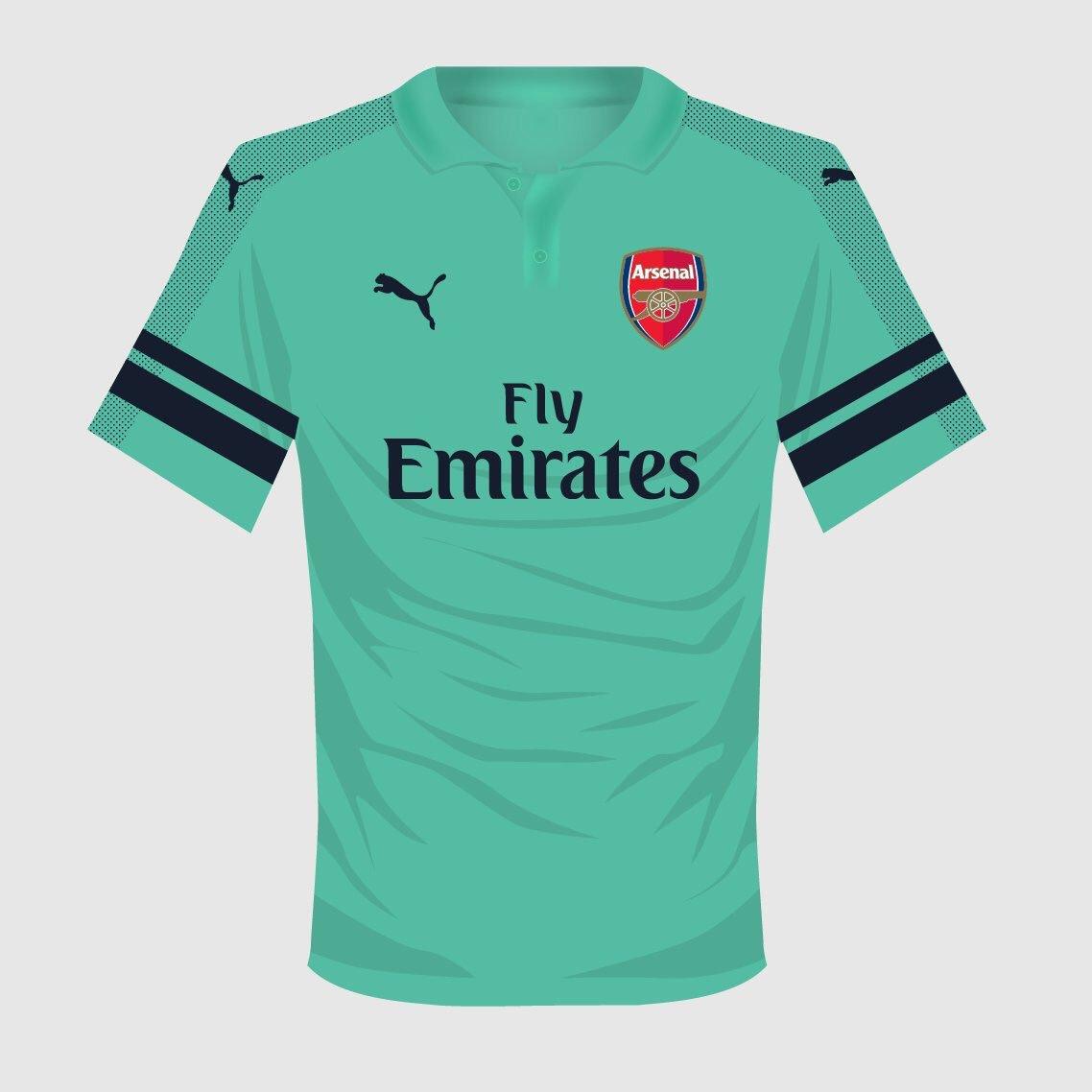 """Arsenal 2018/2019 Kits. Https://…"""
