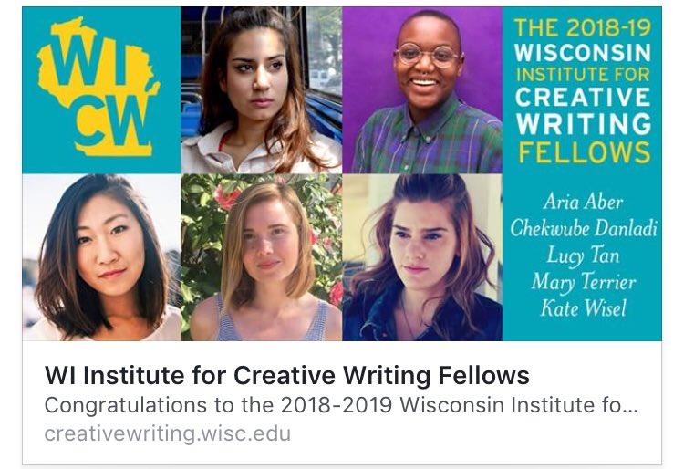wisconsin creative writing