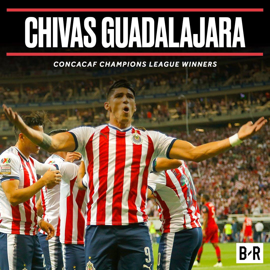 Still no non-Mexican team have ever won the CONCACAF Champions League.   Champions: Congratulations, @Chivas!