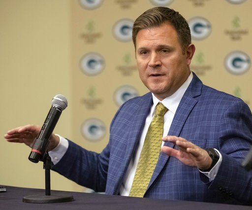 Previously on the outside looking in, Brian Gutekunst now in the hot seat on draft day for Packers https://t.co/EpbfP67RfC