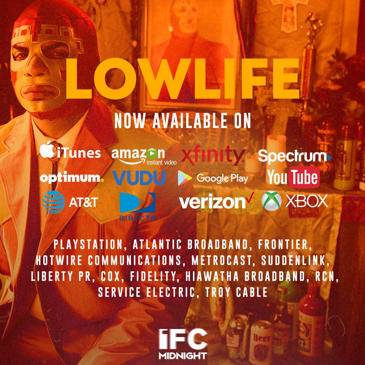 @FleekestGeekest Available now on these VOD outlets!