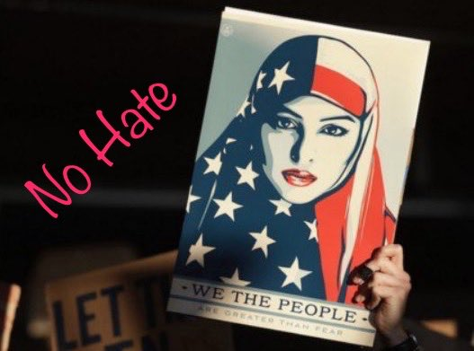 We the people don&#39;t want a country built on hate and racism  #NoMuslimBanEver  #UniteBlue #ResistHate #TheResistance <br>http://pic.twitter.com/cDQefRQqtW