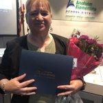 Image for the Tweet beginning: Congrats Ms. Navarro - nominated
