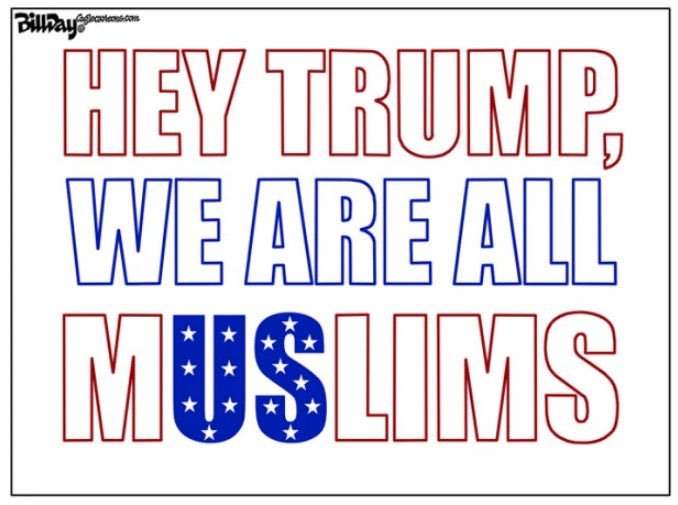 Until this hate and bigotry ends - We are all Muslims  #NoMuslimBanEver #UniteBlue #StopTheHate #NoBanNoWall #TheResistance #LoveTrumpsHate<br>http://pic.twitter.com/lgbwnOjL1h