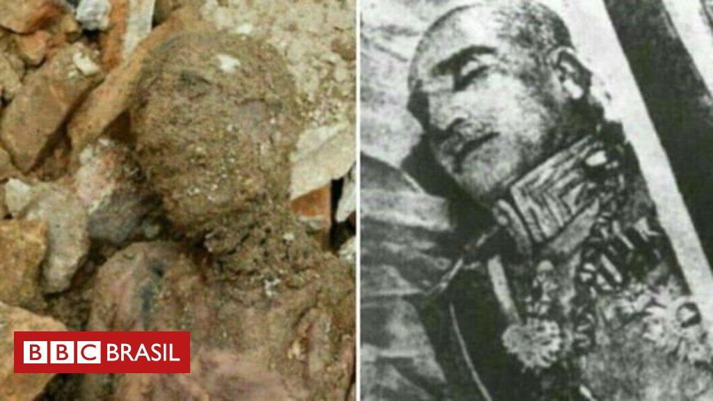 Múmia encontrada no Irã é 'muito provavelmente' de pai do último monarca do país https://t.co/bM4mPdJ7eR