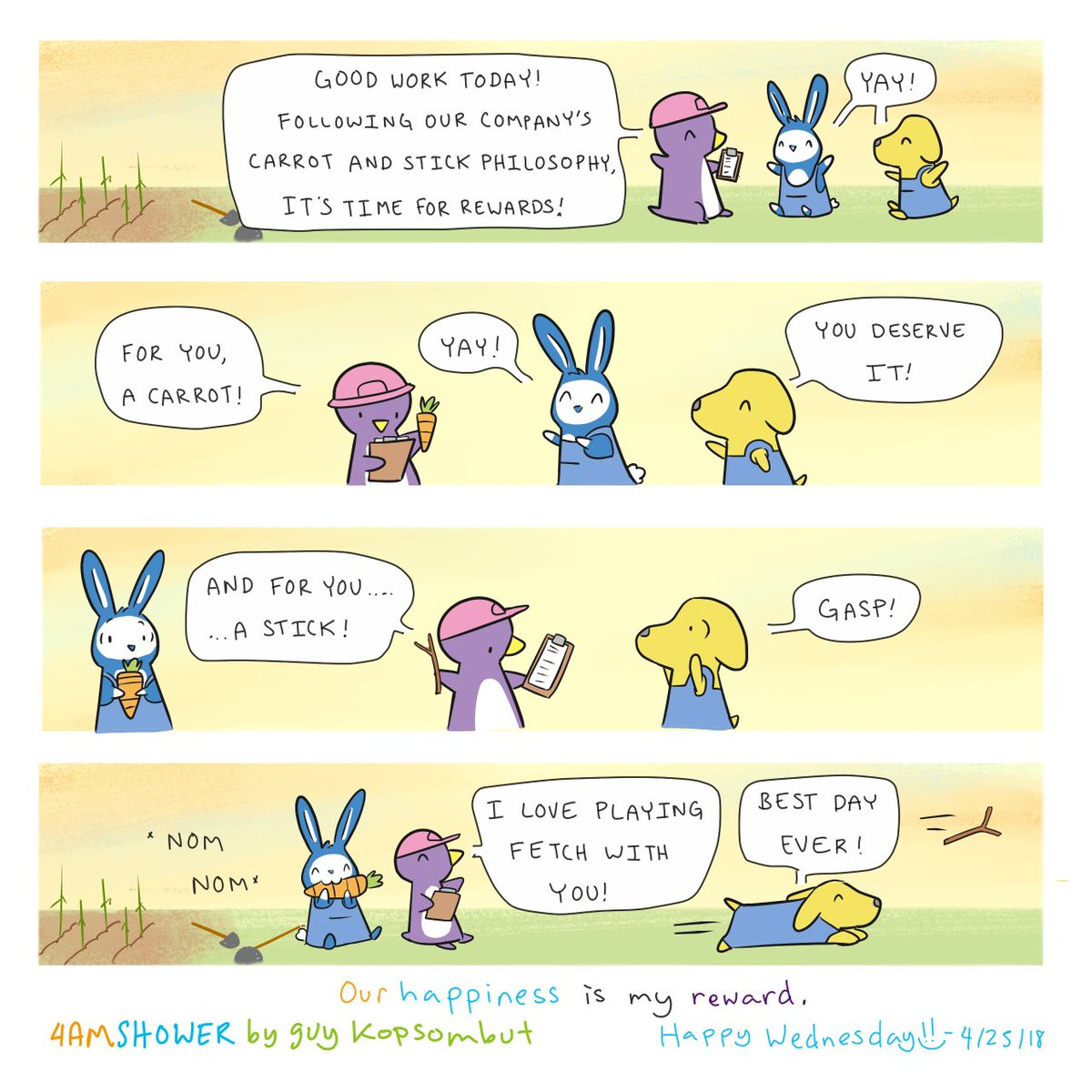 Policy. Today's smile goal: reward yourself If this comic helped you , consider pledging at  http://www. Patreon.com/4amshower  &nbsp;  . For prints and commissions, email me at 4amshower@gmail.com :) #happy #cute #wholesome #illustrations #aww #friends #funny #memes #depression #comics #love<br>http://pic.twitter.com/XC8u3n43k8