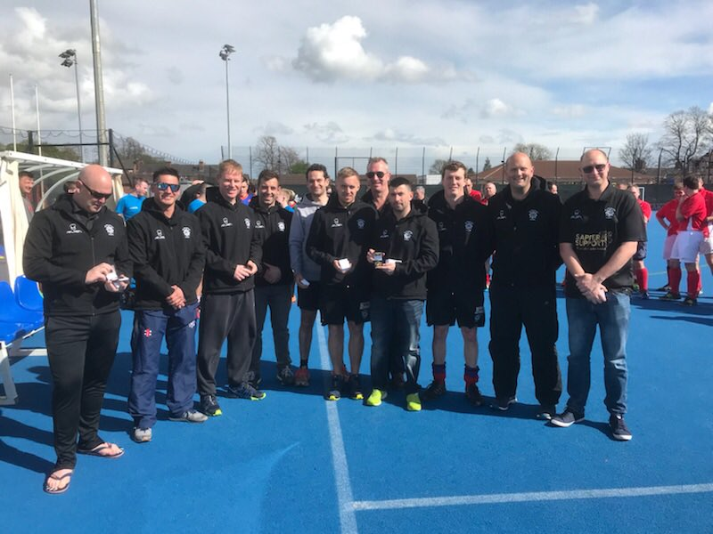 We won the PSUK mens tournament @WYPHC but couldn&#39;t win the Cup (rightly so as a non Police team!) but we did receive winners medals our first silverware. Thank you organisors great event #Team @fireblitzuk @HolmatroUK @SapperSupport @RadiocomsInfo @RCES_tweets #JollyScarpe<br>http://pic.twitter.com/Zazd99IJEQ