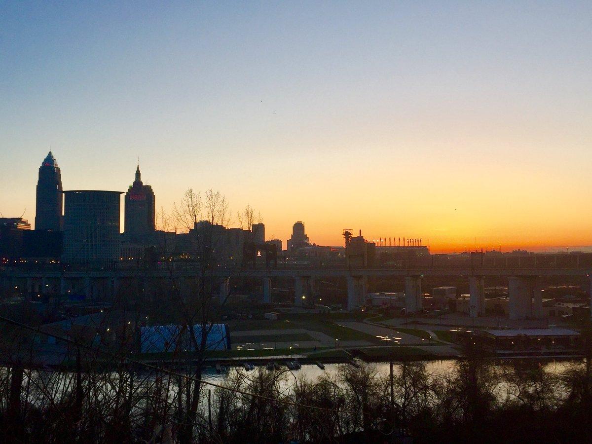 Good morning, Cleveland!!