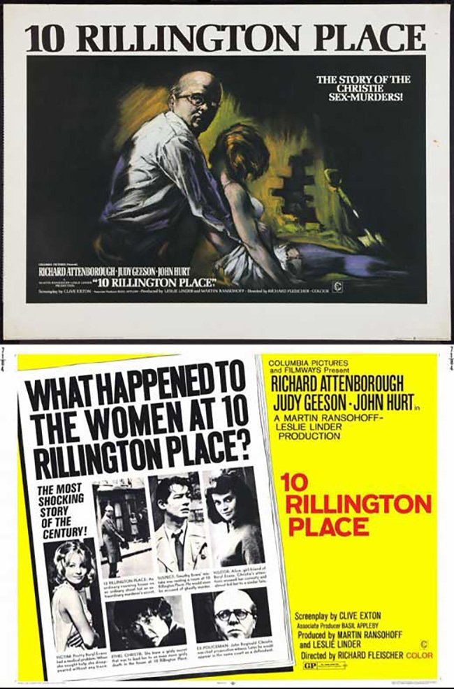 "Dr. Giallo on Twitter: ""10 RILLINGTON PLACE (1971) Richard ..."