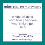 [CALENDAR] #DailyMotivation from Lao Tzu #HPU365