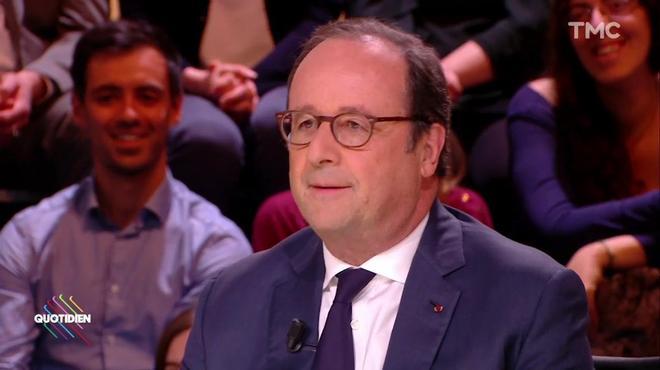 Macron, 'Président des très riches' selon François Hollande : 'On peut y voir une forme d'aigreur, un ancien Président ne devrait pas dire ça, ce n'est pas au niveau', estime @auroreberge dans #RTLMatin