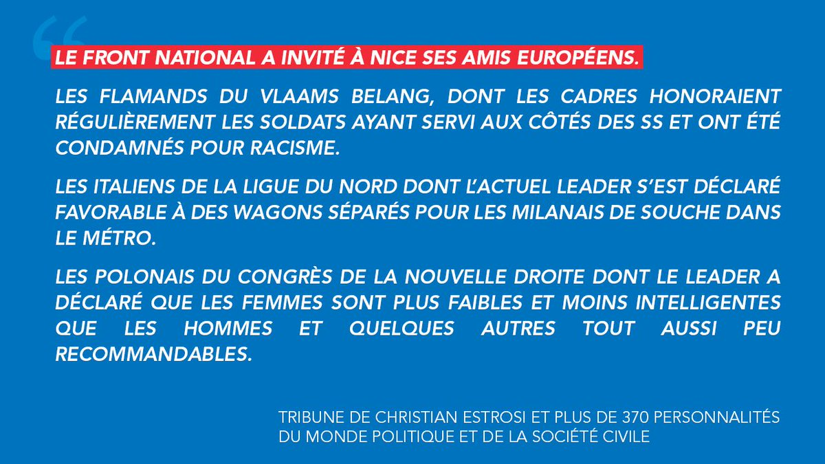 Christian Estrosi On Twitter Nous Nous Faisons La Difference