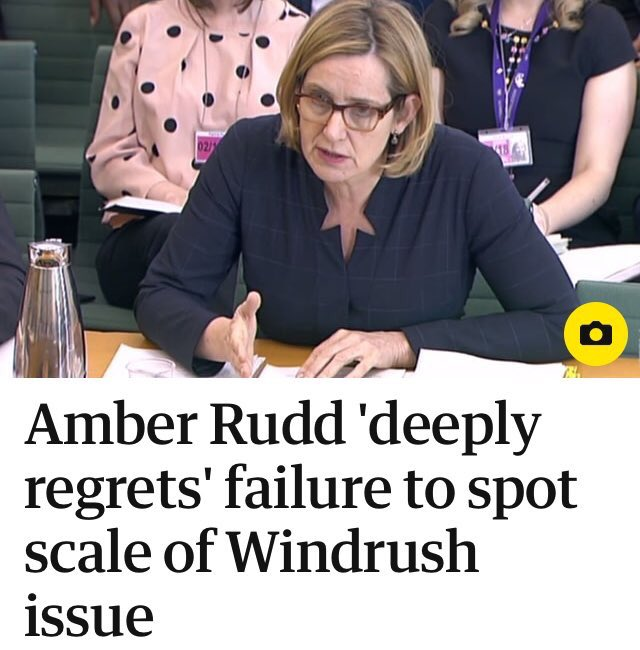Tories had to change 57 pieces of legislation to make #windrush happen.  This was not an accident. <br>http://pic.twitter.com/L0tNkihjEb