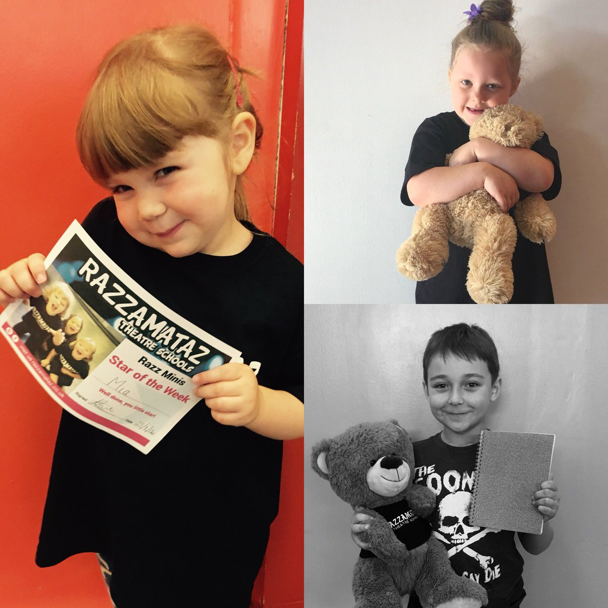#ThrowbackThursday to some of our very first #WednesdayWinners Away back in 2016!  We love being part of your journey and having you guys in our Razz family! #believeinyou #lifeskills   http://Www. newcastle.razzamataz.co.uk  &nbsp;  <br>http://pic.twitter.com/Xapp0bAVQb