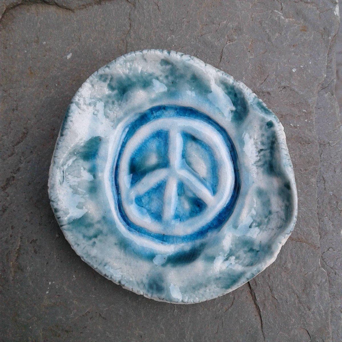 Kd Martel On Twitter Peace Sign Incense Burner Mini Porcelain