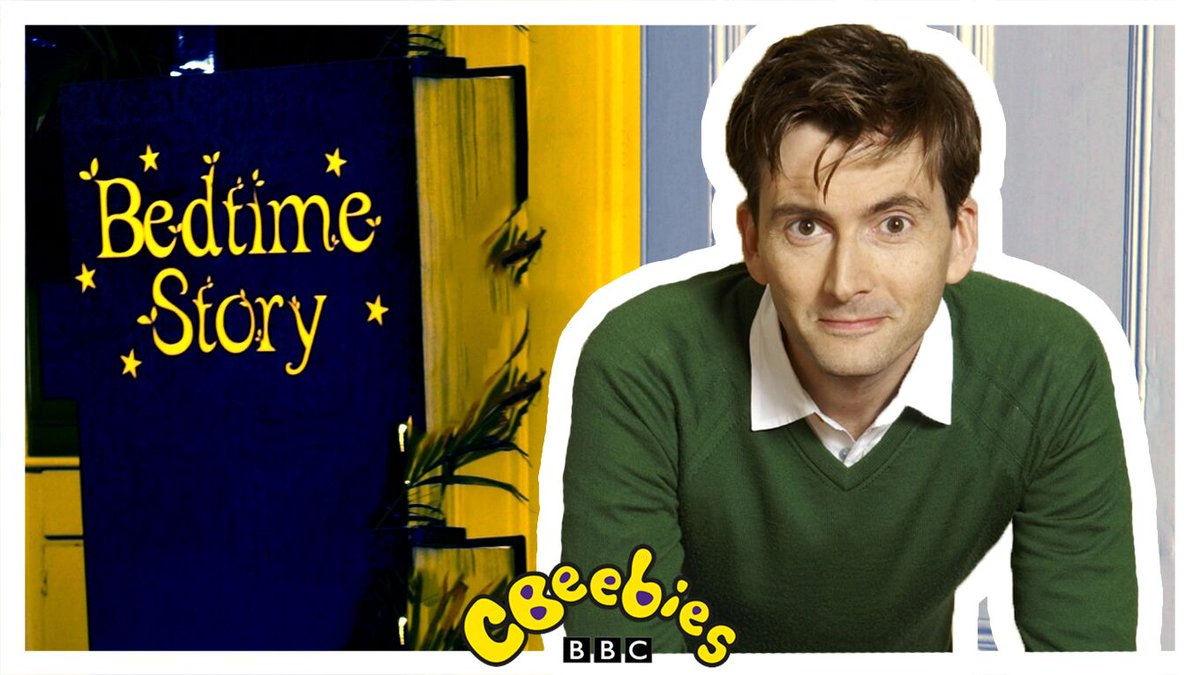 Who's your Tennant? 🤔  The Doctor? 👨⚕️   Barty Crouch Jr.? 🌠  Kilgrave? 👿   No matter how you know him we're sure you'll love him reading you a #BedtimeStory tonight!  Catch him at 6:50pm.   @David_Tennant