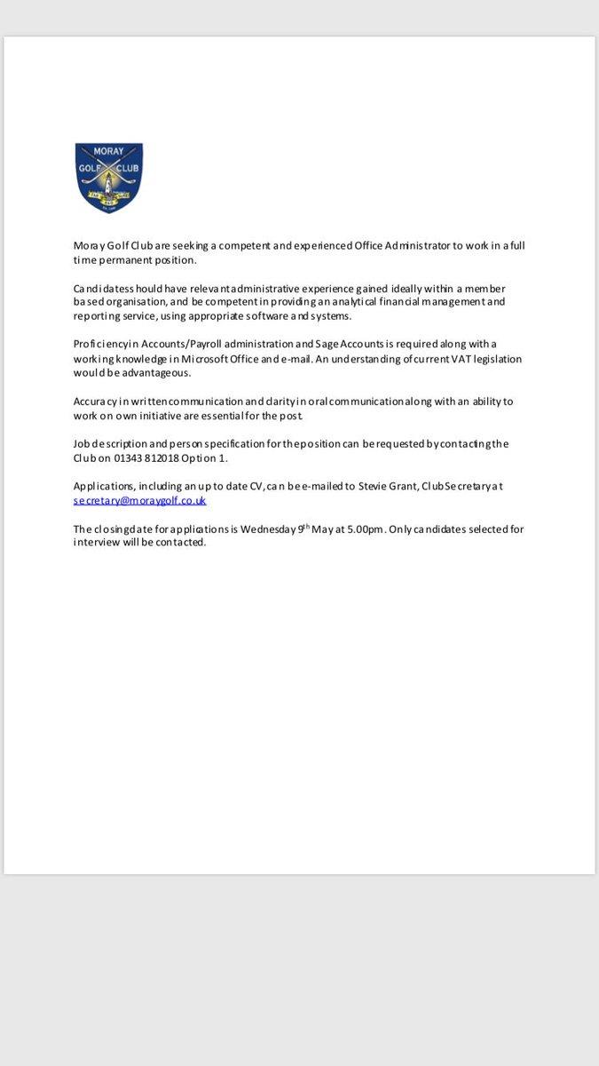 Fonth Authored Posted Club Secretary – Icalliance