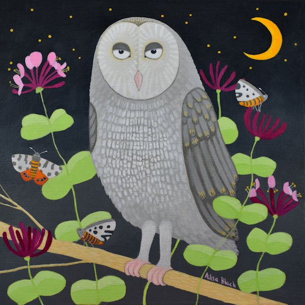 New work off to the Inverarity Gallery for their next exhibition on The Owl and the Pussycat theme! #Banff #art #scottishartists #Owl <br>http://pic.twitter.com/7UGDm0fyzi